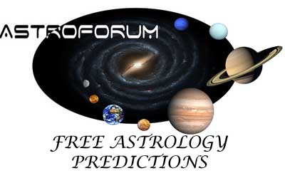 Vedic Astrology Free Forum Predictions