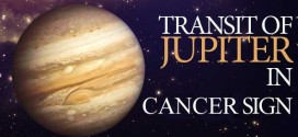 Jupiter's Transit of Cancer Sign in 2014