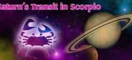 Saturns Transit in Scorpio – Brings Period of Transformation