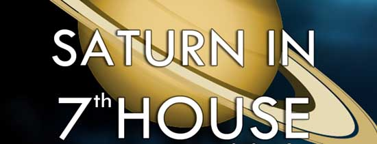 Saturn in the seventh house effects as per Vedic Astrology