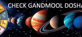 Check Gandmool Dosha in Horoscope – Check Sataisa