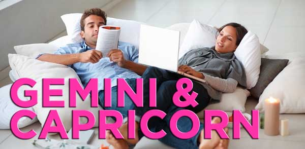 Gemini and Capricorn – Love and Sexual Compatibility