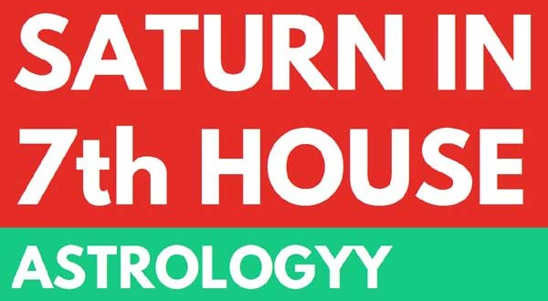 Effect and Remedy when Saturn is in 7th house from Lagna