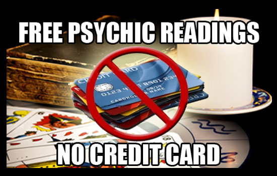free psychic reading no credit card