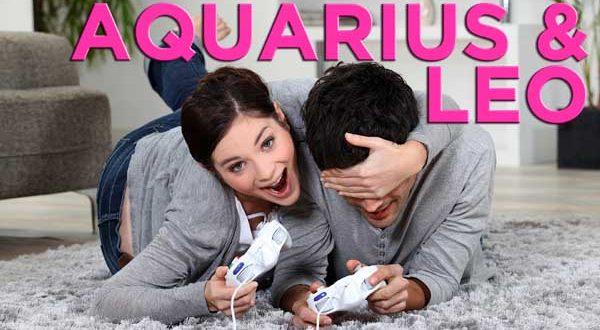 Aquarius and Leo love