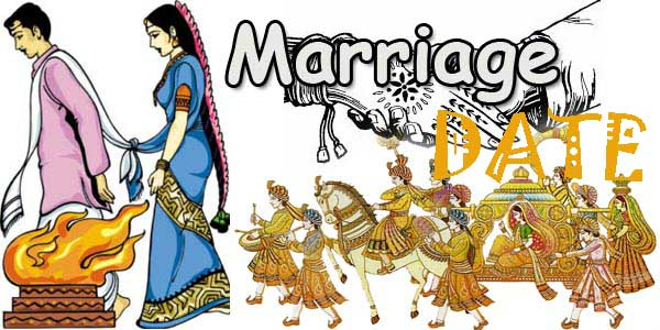 Auspicious Marriage Dates January – February – March 2018