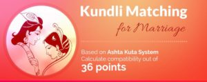kundali matching for marriage