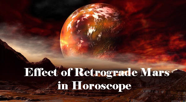 Retrograde Mars