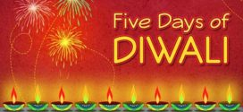 Five days of Diwali –  the Hindu Festival of Lights