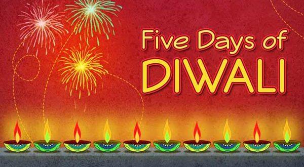 five days of diwali