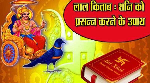 Shani Lal Kitab upay