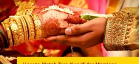 How to match Two kundli for marriage