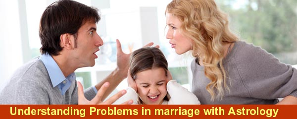 Understanding Problems in marriage with Astrology – Horoscope