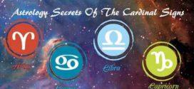 cardinal astrology signs