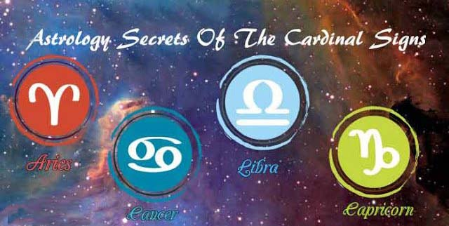 Cardinal Signs in Astrology – Aries, Cancer, Libra & Capricorn