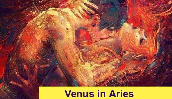 Effects of planet Venus in Aries