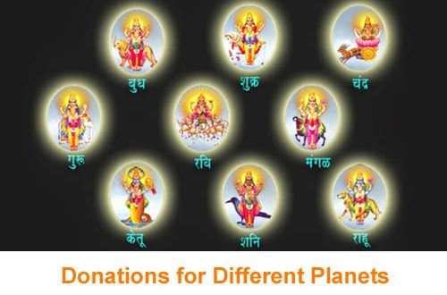 Navagraha Daan items – Reduce Planets Malefic Energy with charity