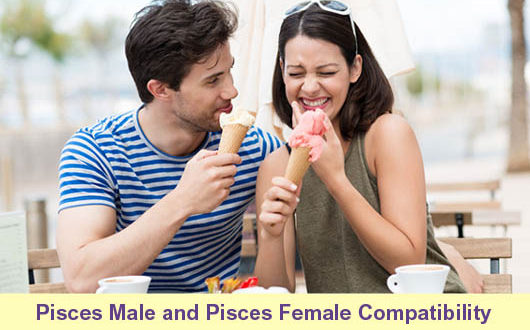 Pisces male and Pisces female compatibility