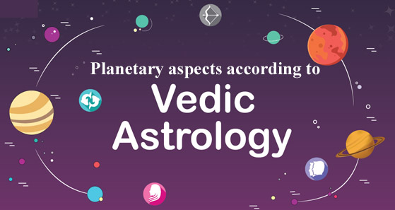 Planetary aspects - Vedic astrology